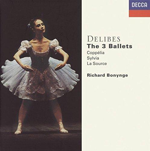 Les Trois Ballets - Coppelia, Sylvia & La Source (Coffret 4 CD)