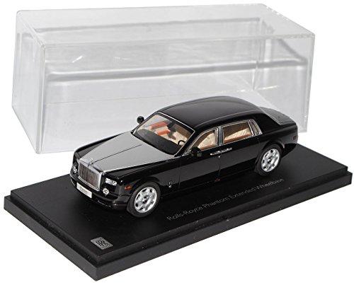 rolls-royce-phantom-2012-schwarz-silber-1-43-kyosho-modell-auto