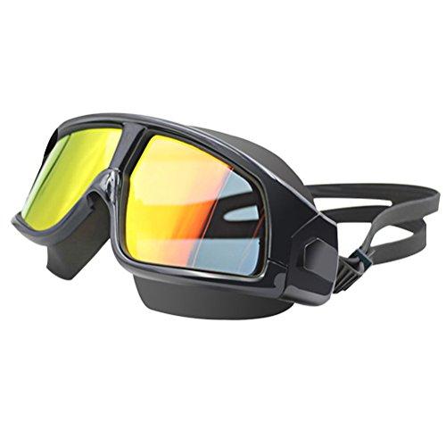 Zhhlinyuan Premium Multi-color Swim Goggles UV Protected, Color Tinted  Lens, No Fog, No Leak, Quality Silicone Band Strap
