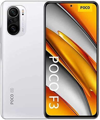 Oferta de Xiaomi Poco F3 - Smartphone 256GB, 8GB RAM, Dual Sim, Arctic White