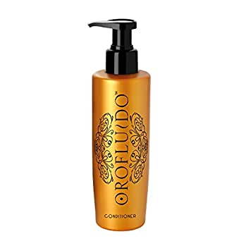 OROFLUIDO Conditioner Après-shampoing Brillance Protection Couleur Huile d'Argan pour Cheveux Ternes, 200ml