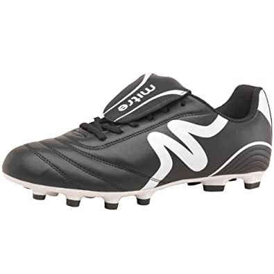 Mitre Mens Intent FG Football Boots Black/White