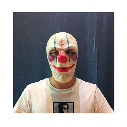 YI-Chopsticks tube Halloween Maske Latex Horror Maske Maskerade Karneval Kostüm Party Supplies Streich Spielzeug Halloween Aprilscherze Tag Großhandel Requisiten Makeup Maske Horror