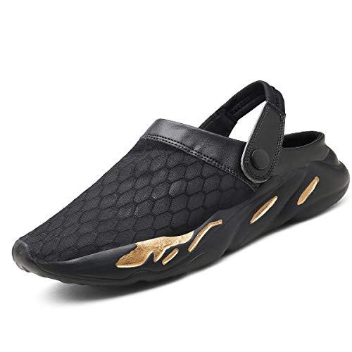 Zuecos Hombre Mujeres Playa Respirable Zapatos