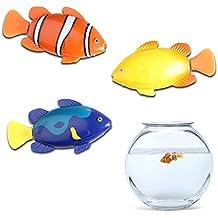 Robot aspirador de peces para tu acuario, diseño de peces payaso, robo de pez, incluso en los de natación de finales de los peces