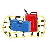 MagiDeal 1:10 Rc Rock Crawler Elástico Bolsa de Equipaje Depósito Combustible Jarra de Agua Para Axial Scx10