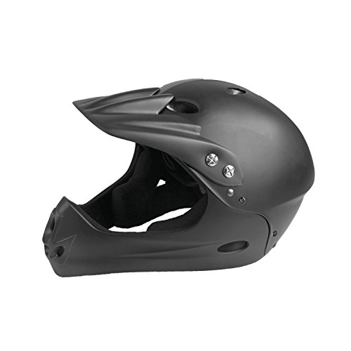 Ventura All in 1 Casco de Ciclismo, Unisex, Negro Mate, 54-58 cm