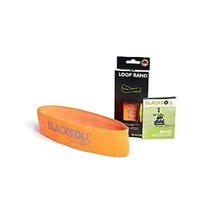 BLACKROLL® LOOP BAND – Fitness-Bänder. Trainings-Bänder in 3 verschiedenen Widerstandsstärken. Gymnastik-Bänder für eine stabile Muskulatur. Einzeln oder im Set