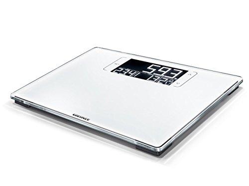 Soehnle Digitale Personenwaage Style Sense Multi 200, zeigt Differenz zum Wunschgewicht an, Personenwaage mit BMI-Berechnung, Waage mit LCD-Anzeige