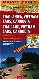 Thailandia, Vietnam, Laos, Cambogia 1:2.000.000. Ediz. multilingue