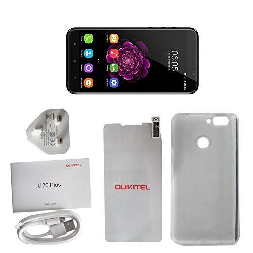 Preisvergleich Produktbild 5, 5 Zoll OUKITEL U20Plus Octa Core Smartphone Handy UK Stecker RAM2G + ROM16G Unterstützung Fingerprint Sensor