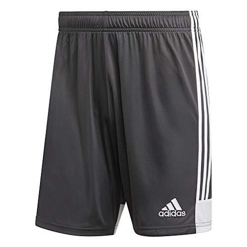 adidas Herren TASTIGO19 Shorts, dgh solid grey/White, XL -