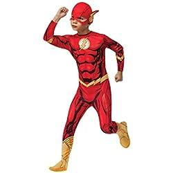 Rubies - Disfraz Marvel The Avengers El Flash para niños, edad 5-7 años (881332_M)
