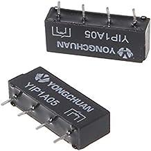 BIlinli 10 St/ücke 2,5X14mm 4 Watt 3 Pin Glas Reed Relais Magnetschalter N//O N//C SPDT