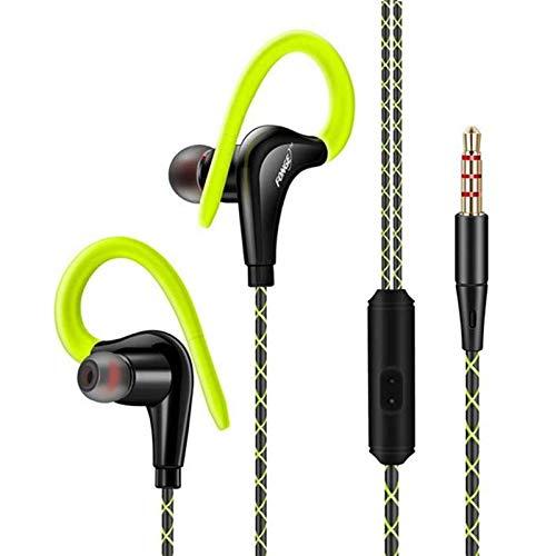 Fonge S760 Sport-Headset für Samsung-Mobiltelefon, wasserfest, schweißfest grün