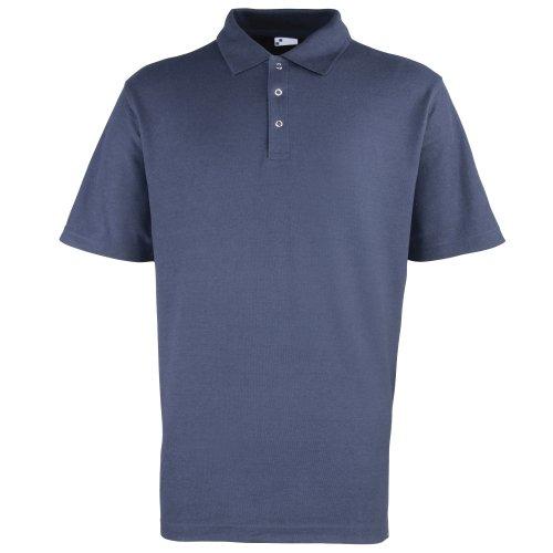 Premier Herren Polo-Shirt, unifarben Rot