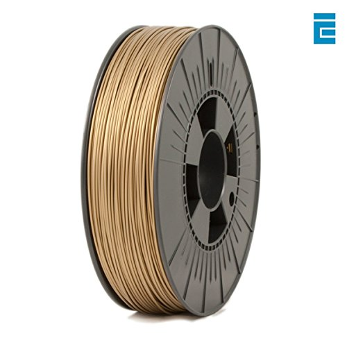 ICE Filaments ICEFIL1PLA107 PLA filament, 1.75mm, 0.75 kg, Groovy Gold
