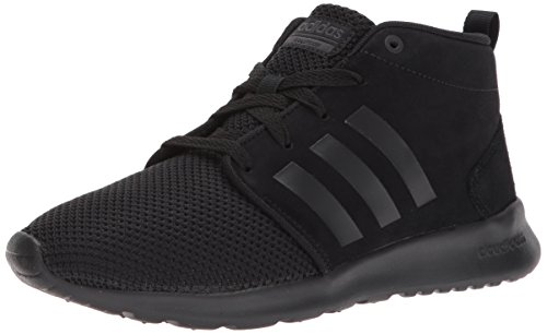 adidas Neo Women's CF QT Racer Mid W Running-Shoes, Grey Two/Grey Three/Crystal White, Black/Black/Utility Black,11 M US