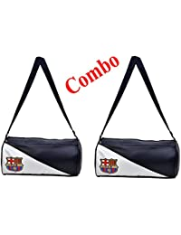 025047aaedd5 CP Bigbasket Pack of Two (2) FCB Stylish Gym Bag Duffle Bag Travel Bag