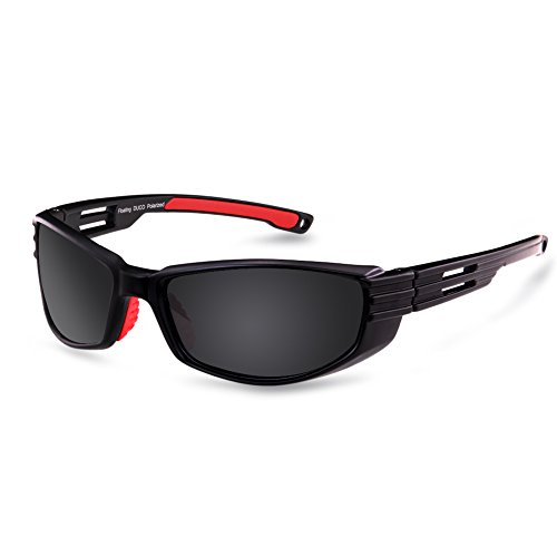 Duco New Designed Polarized Floating Sunglasses Great for Fishing Boating and Water Sports 6212