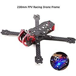 AOKFLY 230mm FPV Racing Drone Frame Carbon Fiber Quadcopter 4mm Arms Frame Kit 5 Inch True X 6061 Aluminum Parts