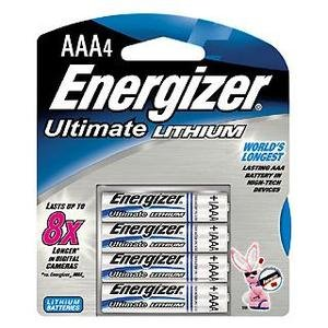 Energizer Lithium AAA 4er Pack Aaa 8 Energizer