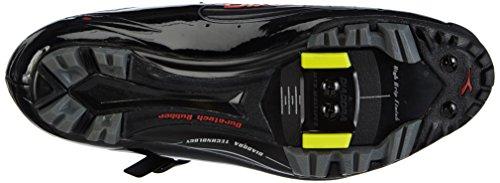 Diadora  X TORNADO, Chaussures de cyclisme pour femme Noir - Schwarz (schwarz/orange 4115)