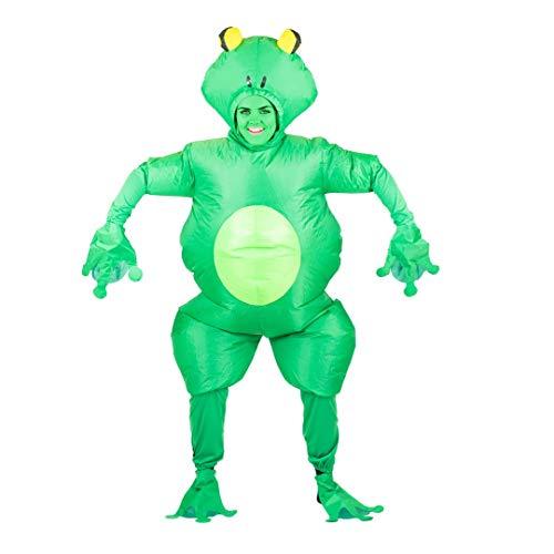 Bodysocks® Aufblasbares Frosch Kostüm für Erwachsene (Erwachsene Kostüm Frosch Für)
