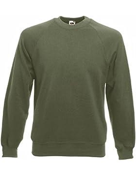 Fruit of the Loom - Raglan Sweatshirt, Felpa, unisex