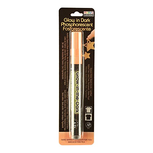 DecoFabric Glow In The Dark Marker Orange - Decofabric Marker