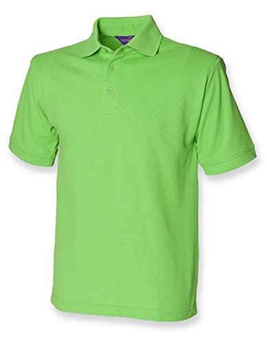 Men`s 65/35 Classic Piqué Polo Shirt Bright Lime