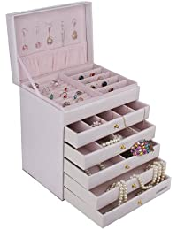 Rowling Jewellery Box Extra Large Jewelry box Cabinet Armoire Bracelet Necklace Storage Case ZG209