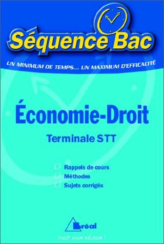 Economie-Droit, terminal STT