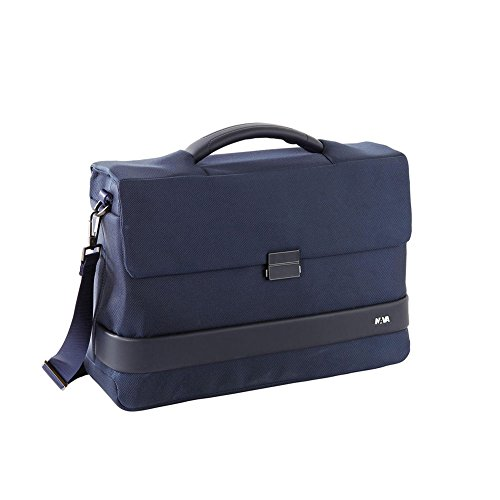 Cartella in Tessuto Porta Pc 15.6' e Porta iPad | Nava Design Easy Plus | EP002-Night Blue
