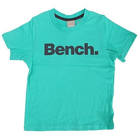 Bench Jungen Standard T-Shirt Kurzarm (7-8 Jahre (128)) (Grün)