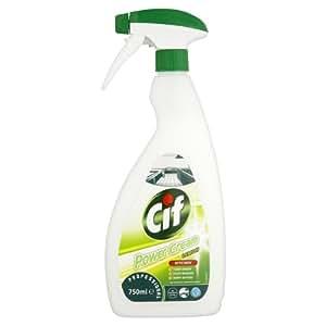 Power Cream Cif citron Cuisine Cleaner 750ml (pack de 6 x 750ml)