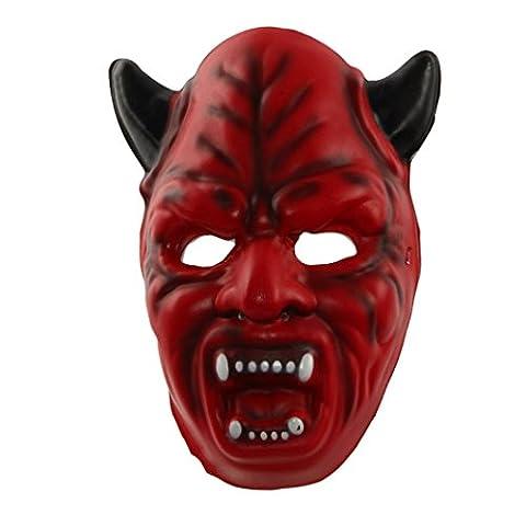 Masques Drôles De Halloween Adultes - Fulltime® Masque Halloween drôle Diversité Fantaisie Boule
