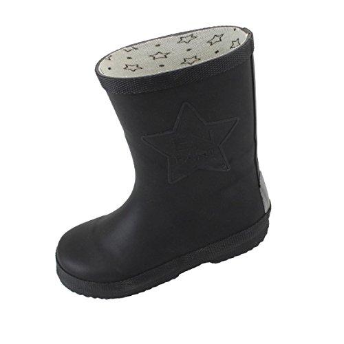 EnFant unisexe, bottes de pluie en caoutchouc, noir, 815110-00 Noir
