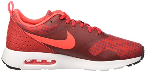 Nike Herren Air Max Tavas Print Trainingsschuhe Mehrfarbig (Unvrsty Red/brght Crmsn-tm Rd)