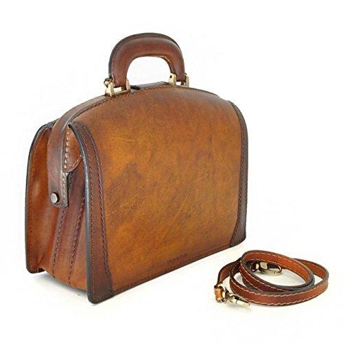 Pratesi Miss Brunelleschi borsa da donna - B120/29T Bruce (Ciliegia) Ciliegia