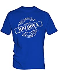 Made In Moldova - Mens T-Shirt T Shirt Tee Top