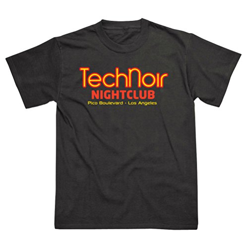 Tech Noir Nightclub Terminator T-Shirt for Men - S to XXL