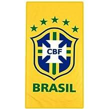 Fútbol playa toalla escudo de Brasil