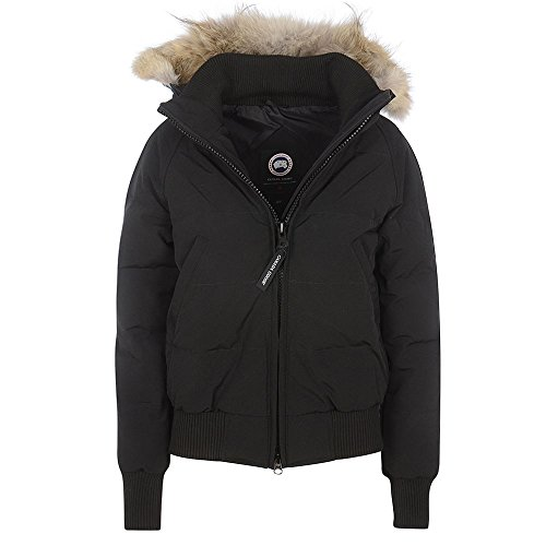 Canada-Goose-Ladies-Savona-Bomber-Jacket-In-Black