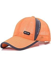 MZ Cappello Visiera Coppia Outdoor Protezione Solare Cappello da Sole  Berretto Traspirante Casual Berretto da Baseball 96cb6968c576
