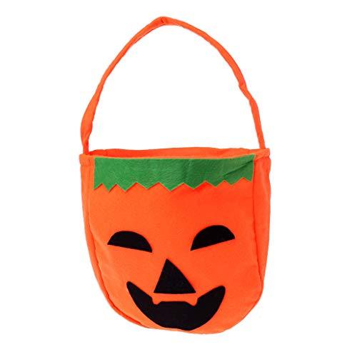 Exing Halloween Candy Bags Süßigkeitstasche Candy Totes Bag Kostüm Zubehör Totes Bag,Vliesstoffe (1)