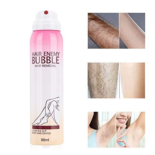 98ml Painless Bubble Indolore per uomini e donna Crema depilatoria per donne Hair Remover Spray Crema depilatoria