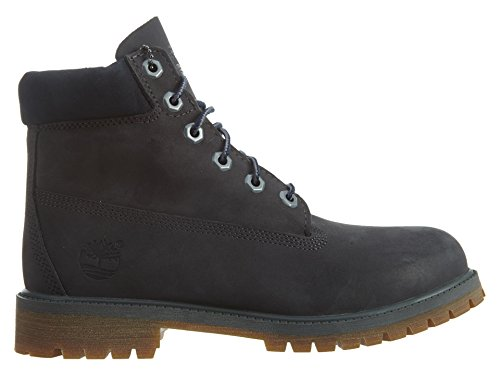 Timberland 6 Inch Classic Boot Youth Dark Grey Nubuck Ankle Boots Dark Grey