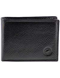 Portefeuille à l'italienne Cuir noir N1181 Porte-monnaie homme Cadeau prête à offrir ou s'offrir