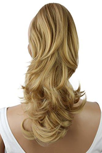 PRETTYSHOP Voluminöses Haarteil Hair Piece Pferdeschwanz Zopf Ponytail ca 35cm diverse Farben (dunkelblond H102_25)